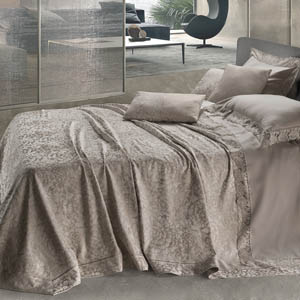 Ninfea, coperta - David Home srl - Biancheria per la casa Made in Italy