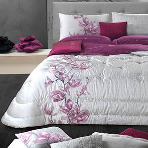 Fuxia Glamour, trapunta - David Home srl - Biancheria per la casa Made in Italy